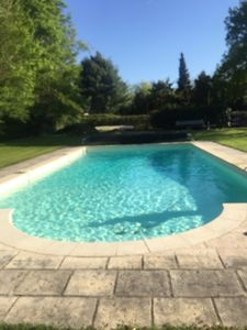 Photo for Norman house in the heart of the countryside with heated pool