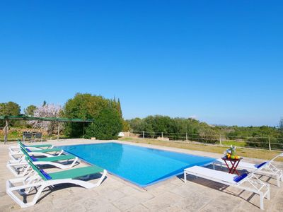 Photo for The holiday Finca in the east of Mallorca is from a 13.