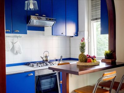 Photo for The Blue House with Terrace - 3 min from M5 PORTELLO