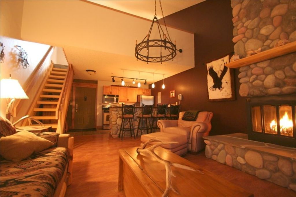 Whitefish Mountain Resort Ski In Ski Out Condo At