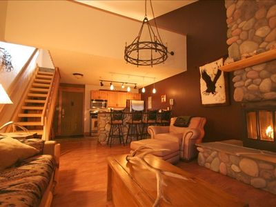 Photo for Whitefish Mountain Resort Ski-in, Ski-Out Condo at Edelweiss