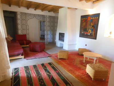 Photo for Dar Achorafa - 3 bedroom villa, pool and spa - south mountain Marrakech