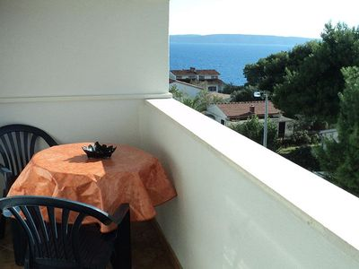 Photo for One bedroom apartment Lukić A4 with sea view