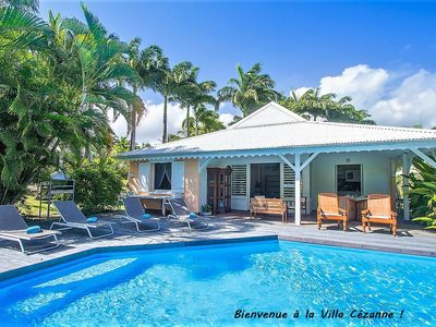 Photo for Creole villa with sea view and private pool between Ste Rose and Deshaies