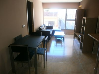 Photo for APARTMENT IN THE CENTER 5 MINUTES IDEAL BEACH FOR COUPLES. FREE WIFI.