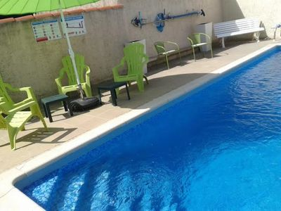 Photo for Semi-detached lodge with swimming pool