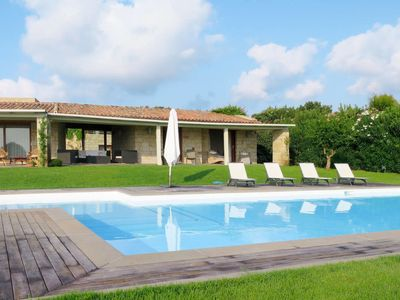 Photo for Case Peschiera-Lu Fraili Holiday Home, Sleeps 12 with Pool, Air Con and WiFi