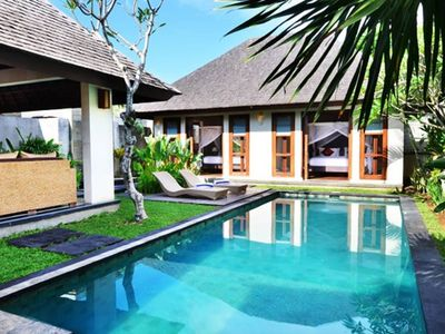 Photo for The Khayangan Umalas · Spacious 2BR Private Pool Garden Villa Umalas Bali
