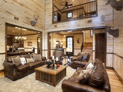 """Photo for New! Spacious! """"Call It A Day"""" Luxury Cabin in Broken Bow; Beavers Bend"""