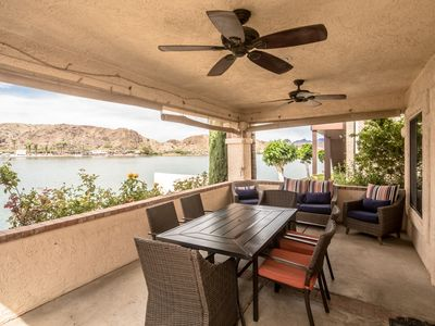 Photo for GEORGEOUS RIVER FRONT HOME RIGHT ON THE WATER AND DOCK !!!