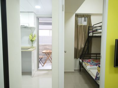 Photo for Cozy 3 bdrs 8-10 ppl near MTR Station