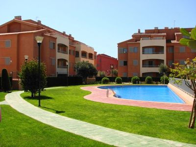 Photo for Apartment A Few Meters Away From The Beach Marina Sant Jordi (MSJ27)