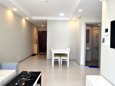 Photo for Cute luxury apartment with 2 bedrooms, King, Queen size bed and 2 full baths.