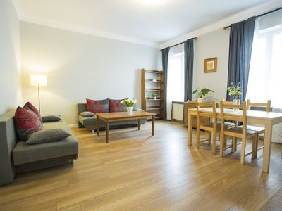 Photo for M9 apartment in Stare Miasto with WiFi & air conditioning.