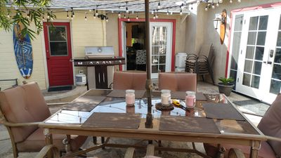 Photo for Charming Beach Cottage in Carlsbad Village steps from the beach and village!