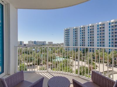 """Photo for """"Paradise By The Beach"""" . 6  Floor overlooking Pool/ Gulf View."""