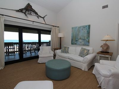 Photo for Shipwatch B301- Beach Front Views from Terrace with Coastal Interior!