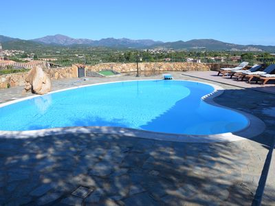 "Photo for ""VILLA PEONIA"" SEA VIEW with POOL and PRIVATE GARDEN - CAR PLACES"