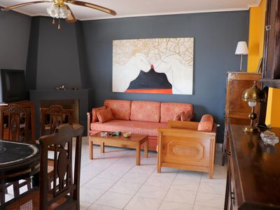 Photo for In a beautiful hillside location, close to the sea, in a quiet environment lies this apartment G