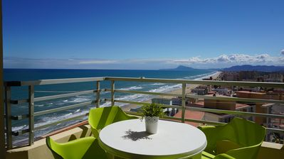 Photo for Apartment with spectacular views between Valencia and Benidorm