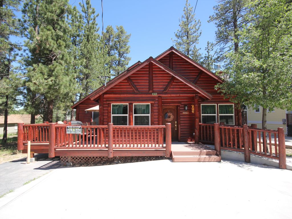 ca reservations for big cabin agency in bear lake starlight rentals vacations cabins lodging