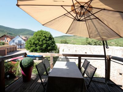 Photo for Apart. 3 rooms 2 bedrooms for 4/6 pers. with parking in Kaysersberg-Vignoble