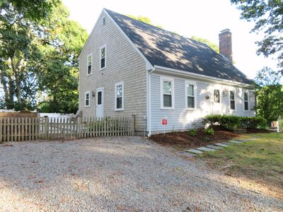 Side entry - 17 Woodbine Road Harwich Port Cape Cod New England Vacation Rentals