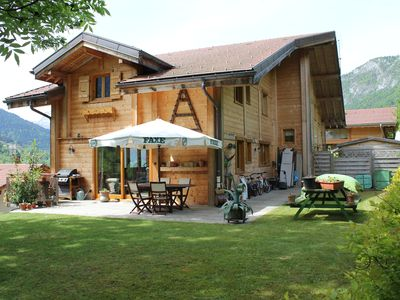 Photo for Chalet between lake and mountain