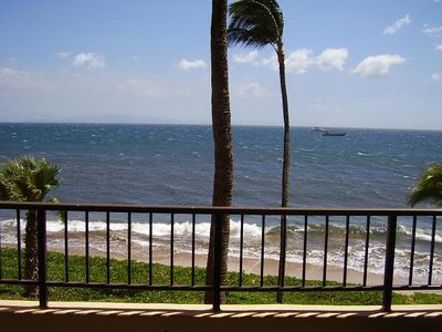 Photo for UP TO 25% OFF!!!  Spectacular Sunsets-Oceanfront 1 Bedroom Condo at SB!