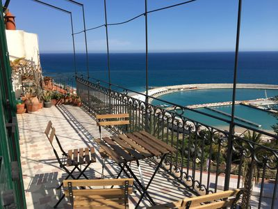 Photo for Large apartment with incredible sea views