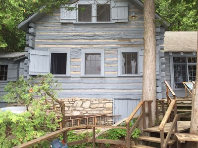Photo for Quintessential Door County Cottage on the Bay walking distance to Ephraim