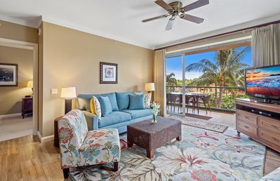 Photo for Maui Resort Rentals: Honua Kai Konea 320 –  Upgraded Corner 2BR w/  Delightful West Maui Mountain Views