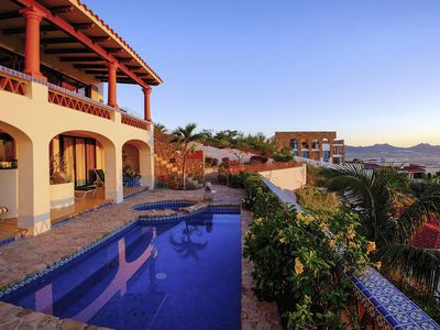 Photo for Villa Joya de Law - Views of Cabo San Lucas Bay & Marina from Private Retreat