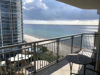 Photo for Ocean Front in Aventura direct to the Ocean, Sleeps 4 Adults,Parking Free