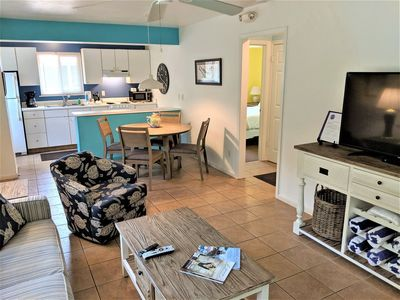 Photo for DRIFTWOOD INN COTTAGE #4: Dog Friendly, NEW LOW Fall Rates, Walk to the Beach, Sleeps 6!