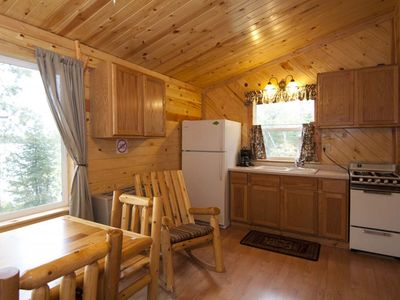 Photo for Newly remodeled lakeside cabin right across from BWCAW and 7 miles outside Ely
