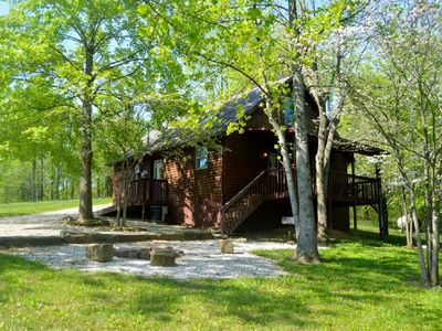 Photo for Deluxe with jacuzzi tub cabin #17 Located on Patoka Lake in Southern Indiana