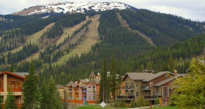 Sun Peaks Village with Mt Todd in background