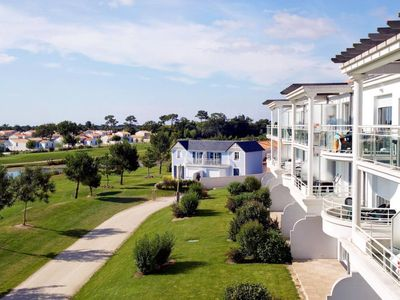 Photo for Apartment Le Domaine de Fontenelles (SGC200) in Saint-Gilles-Croix-de-Vie/Givrand - 4 persons, 1 bedrooms