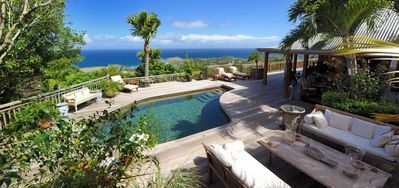 Villa Nahma  -  Ocean View - Located in  Stunning Vitet with Private Pool