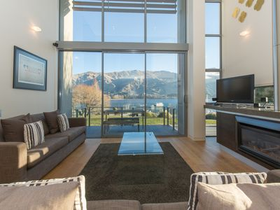 Photo for Lake Front Apartment - Wanaka Unlocked