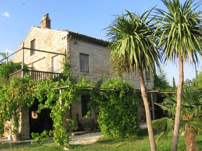 Photo for Romantic Farmhouse with pool and great garden, 30 minutes to the beach.