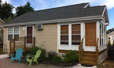 Elegant, cozy, well-furnished two-bedroom cottage in a wonderful location.