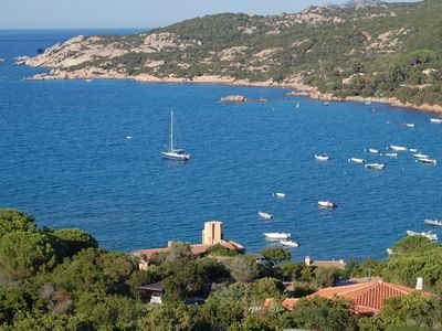 Photo for Sardinia Private Villa by the Sea of Cala Girgolu