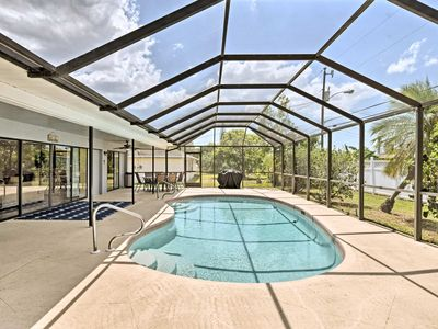 Photo for Tranquil Cape Coral House with Private Lanai&Pool!