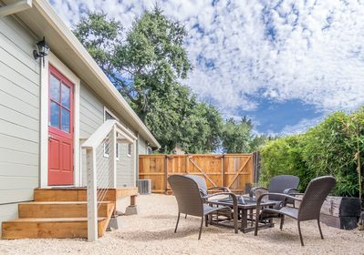 Backyard - Enjoy seclusion and privacy in the backyard.