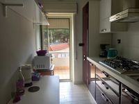 Bright clean apartment with comfortable beds and a well equipped kitchen.