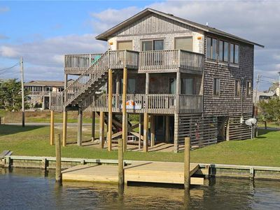 Photo for Excellent Watersports Spot! Canalfront-Hot Tub, Boat Dock, 2 Kayaks, DogFriendly