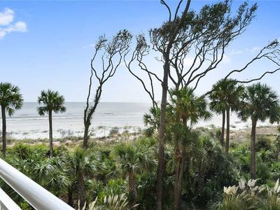 Photo for Beautiful three bedroom, ocean front 6208 Hampton Place  in Palmetto Dunes
