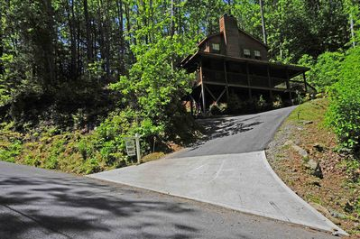 short but steep driveway caution is advised
